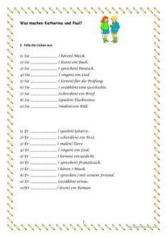 German games plus task cards, verbs with separable prefixes ...