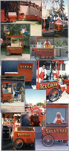 Food Cart Party- great for carnival themed party.