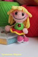 кукла брелок подвеска описание / crochet doll russian tutorial