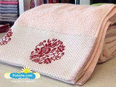хавлиени кърпи от чист и фин памук в розов цвят