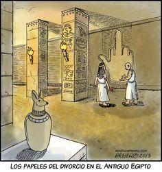 El divorcio express no lo inventó Zapatero, ya existía en el Egipto Grecorromano