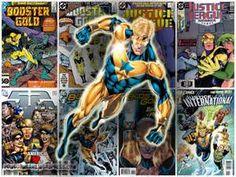 Booster Gold - Bing Images Power Girl Supergirl, Wonder Woman Superhero, Michael Carter, Charlton Comics, Superhero Villains, Blue Beetle, Martian Manhunter, Dc Heroes, Nightwing