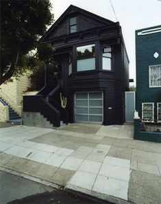 black goth couture house in San Francisco, don't have the link but found on Offbeat Home