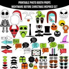 """What's This?"" 10 Nightmare Before Christmas Party Ideas"