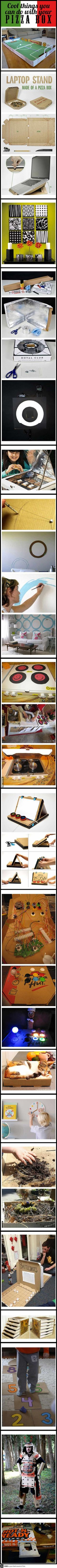 Cool Things to do with a Pizza Box
