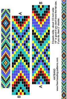 loom beading bracelet pattern