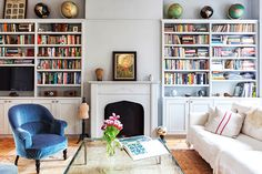 See more information about Street IV, Carroll Gardens at onefinestay. Visit us for further details about this boutique New York home. Home Decor Bedroom, Home Living Room, Living Spaces, Room Decor, New York Homes, Lounge, Romantic Homes, Living Room Lighting, Living Room Inspiration