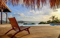 Pool with a view . Welcome to Le Marin Outdoor Chairs, Outdoor Furniture, Outdoor Decor, Location Saisonnière, Villa, Sun Lounger, Bungalow, Home Decor, West Indies