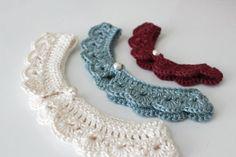 PDF Peter Pan Collar Crochet Pattern por LoveCityCrochet en Etsy