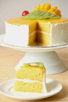 Mango Cake ~ Lincy's Cook Art