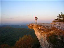 McAfee Knob, Appalachian Trail...near Roanoke, VA