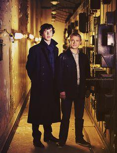 Sherlock & John. Sherlock Sherlock Sherlock... never too much Sherlock...