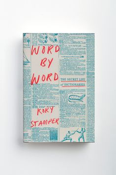Word by word book cover jacket design handwritten typography dictionary 2017 typography, handwritten typography, Handwritten Typography, Lettering, Typography Art, Graphic Design Typography, Typography Magazine, Creative Typography, Design Editorial, Magazin Design, Print Design