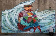 Porque hoje é o dia de Portugal, de Camões e das Comunidades Portuguesas! grafitters ARM Collective.