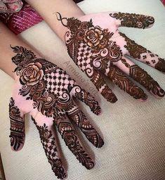 Henna by Location: Gujarat India Mehndi Desgin, Eid Mehndi Designs, Mehndi Design Pictures, Latest Mehndi Designs, Mehndi Images, Mehndi Designs Front Hand, Rangoli Designs, Henna Tattoo Kit, Mehndi Tattoo