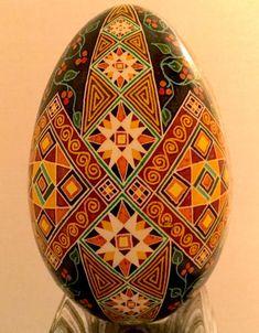 Pysanky Ukrainian egg batik