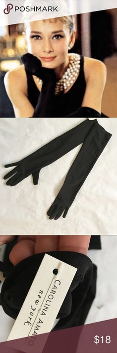 Long Gloves Opera Gloves. Long gloves. Perfect for a black tie affair, wedding, etc. NWT Accessories Gloves & Mittens