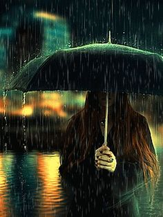 Without you every day is a rainy day. Night Rain, Rain Days, Rainy Night, Rain Photography, Creative Photography, Autumn Photography, Gifs, Dark Gif, I Love Rain