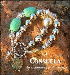 Consuela Turquoise and Silver Southern Cowgirl Bracelet-cowgirl jewelry,cowgirl pearls, bling,concho pendant. Leather Jewelry, Beaded Jewelry, Jewelry Bracelets, Handmade Jewelry, Diamond Necklaces, Leather Bracelets, Leather Cuffs, Metal Jewelry, I Love Jewelry