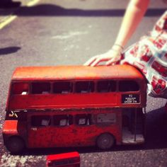 Miniature buses for tiny people #yearofthebus