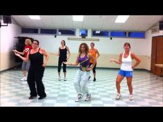 Cumbia Arabe- Zumba with Erika. esta