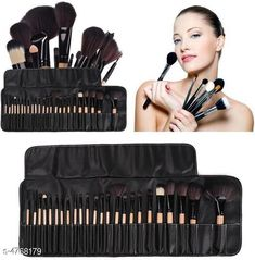Checkout this latest Makeup Brushes Product Name: *24 Pcs Black Makeup brush Lthr * Product Name:  24 Pcs Black Makeup brush Lthr Product Type: Makeup Brush Set Package Contains : It Has 1 Pack(24 Pieces) Of Makeup Brush set Country of Origin: India Easy Returns Available In Case Of Any Issue   Catalog Rating: ★4 (723)  Catalog Name: Elite Professional Makeup Brushes Set Vol 1 CatalogID_694279 C167-SC2026 Code: 343-4768179-999