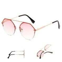 ba511ea28c7 New Design Hexagon Sunglasses Women Retro Vintage Men Fashion Clear Sun Glasses  Ladies Oversized Shades Female Eyewear 2018