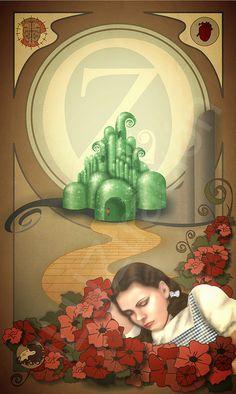 De camino a Oz |  Wizard of Oz http://iluztracion.wordpress.com/