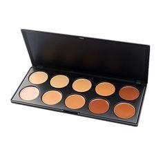 10 maquillaje de la cara de color profesional paleta de cosméticos concealer – EUR € 10.90