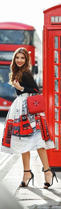 London Street Style Haute in London ❤