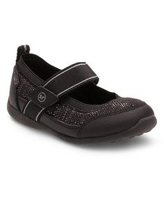 Look at this #zulilyfind! Black Made2Play Tilly Mary Jane by Stride Rite #zulilyfinds