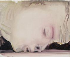 Marlene Dumas, The Kiss, 2003. Art Experience:NYC http://www.artexperiencenyc.com/social_login
