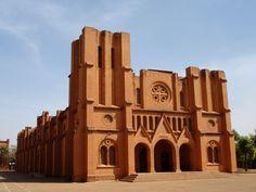 Burkina Faso: Cathedral of Ouagadougou