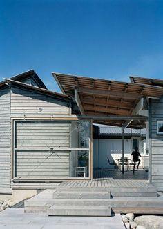 Landström Arkitekter - Projekt - Fritidshus Strömstad