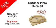 Outdoor Pizza Oven Kit now -16%. Buy now: http://shop.vitcas.com/outdoor-pizza-oven-kit-1056-p.asp
