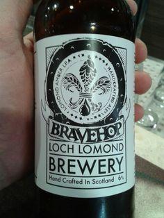 BraveHop, Loch Lomond, amber ipa, Scotland