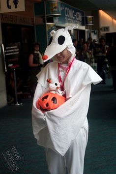 sdcc costumes 070- Zero from Nightmare Before Christmas | by IdleHandsBlog