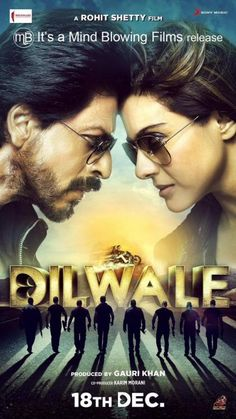 SRK-Kajol are stylish & cool in this Dilwale poster! | PINKVILLA