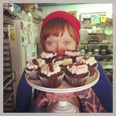 Vegan, GF Neopolitan Cupcakes by Short Street Cakes, via Flickr