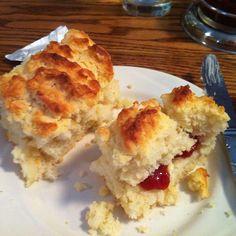 buttermilk biscuits @ Lucile's Restaurant