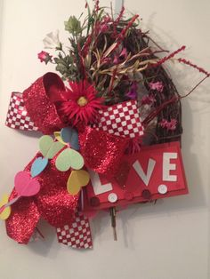 #valentine #wreath and fun