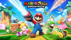First Artwork For Nintendo Switchs Rumored Mario/Rabbids Crossover Leaked