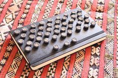 DIY Button Tufted Headboard by meguerite, via Flickr