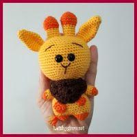 Amigurumi Cute Little Giraffe Free Pattern – Amigurumi Crochet Crochet Bookmark Pattern, Crochet Bookmarks, Little Giraffe, Cute Little Animals, Crochet Baby, Free Crochet, Amigurumi Doll Pattern, Turkish Pattern, Cute Alpaca