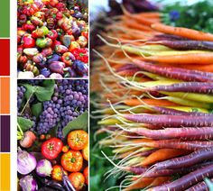 Colorful veggies!