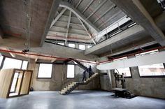 Las rehabilitada Serrería Belga, lista para ser sede del Medialab desde enero de 2013