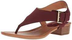 Tommy Hilfiger Womens Kitty Heeled Sandal Burgundy 95 Medium US *** You can find more details by visiting the image link. (This is an affiliate link) Heeled Sandals, Heels, Tommy Hilfiger, Image Link, Burgundy, Wedges, Kitty, Medium, Women
