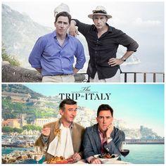 #TheTriptoItaly #IFCFilms #MichaelWinterbottom #SteveCoogan #RobBrydon #RosieFellner #GenArt30Days30Films #DaySeven Rob Brydon, Two Men, Amalfi, Italy Travel, Rome, Films, Day, Movies, Italy Destinations