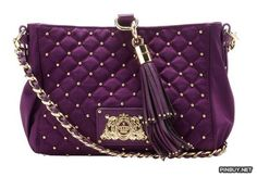 Juicy Couture Quilted and Studded Nylon Mini Kiki Cross Body Bag - Cross Body - Bags and Purses