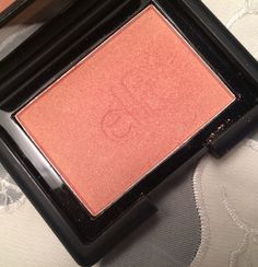 Elf Candid Coral Blush: dupe for Benefit Coralista and Nars Deep Throat